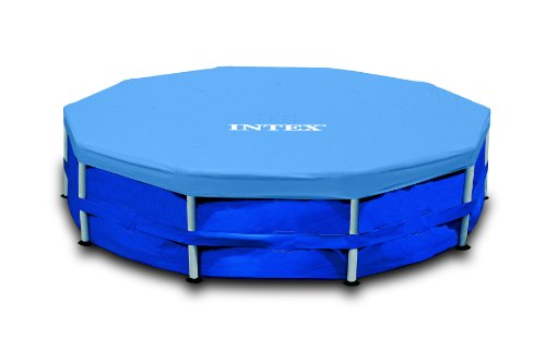 Intex–58989–58411–Lona de protección para Piscinas Tubular o Hinchable (diámetro de 4,27m