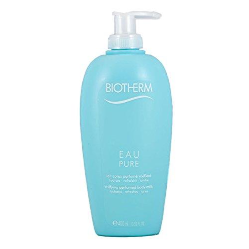 Biotherm Eau Pure femme/women, Vivifying perfumed body Milk Limitierte Sondergrösse, 1er Pack (1 x 400 g)