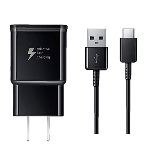 Samsung Quick Charger para Galaxys9 / S9 + / Note9 / Note8 / S8 / S8 + / A8 (2018) / MotoG6 / Huaweip20lite 1 paquete, cargador Buquetfee