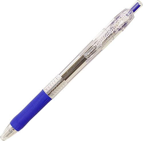 ゼブラ 油性ボールペン タプリクリップ 0.5mm 青 BNS5-BL 【× 4 本 】