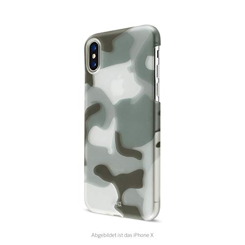 Artwizz Camouflage Clip für iPhone XR - Einzigartiges Design in Camouflage Erscheinungsbild mit Soft-Touch Beschichtung & Soft-Touch-Griff - Entworfen in Berlin in Deutschland, Farbe: Classic