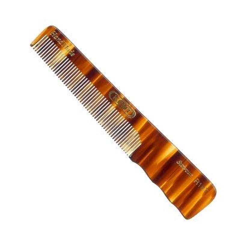 錫ラフレシアアルノルディ冷蔵庫Kent R18T- Men's Fine Toothed with Thumb Grip Medium 150mm/5.51