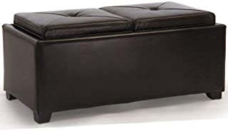 Christopher Knight Home Kenwell Storage Ottoman, Brown