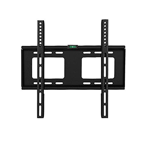 Soporte universal para TV de sobremesa Soporte fijo de pared para TV, soporte de pared para TV ultradelgado para TV LED LCD de plasma de 32-55 pulgadas Full HD VESA 400x400, capacidad 50 kg (tamaño: