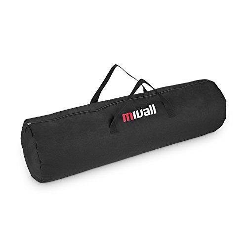 Mivall Gestängetasche Aufbewahrungstasche Zeltgestängetasche Zelttasche (125 x 25 cm)