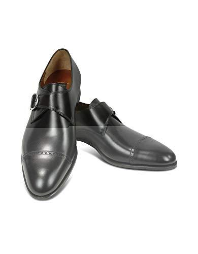 Fratelli Rossetti Luxury Fashion Herren 2156188301 Schwarz Leder Monk-Schuhe   Jahreszeit Permanent
