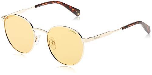 Polaroid Unisex-Erwachsene Pld 2053/S Sonnenbrille, Mehrfarbig (Orange), 51