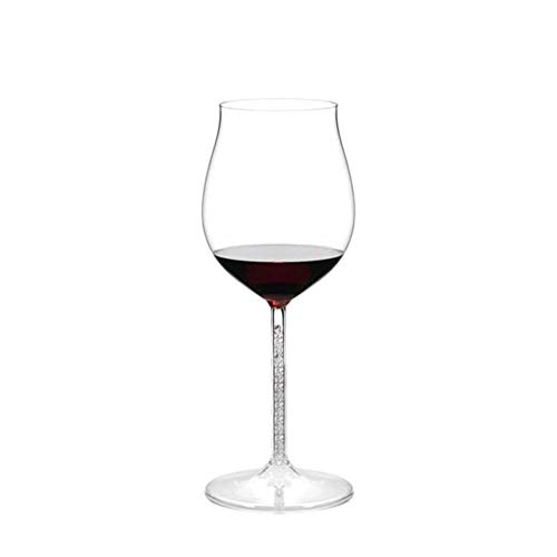NAXIAOTIAO Personalised Wine Glass | Set of 4 |670 ML | Splendour Collection | Crystal Glass | Perfect for Home Restaurants And Parties