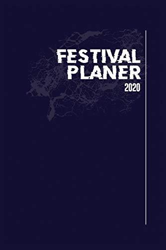 Festival Planer 2020: Blau Grunge Edition I Eventplaner und Tagebuch für Deine Festivalsaison I Für bis zu 5 Events I Perfekt organisiert & mehr Zeit für die Party I Robustes Softcover