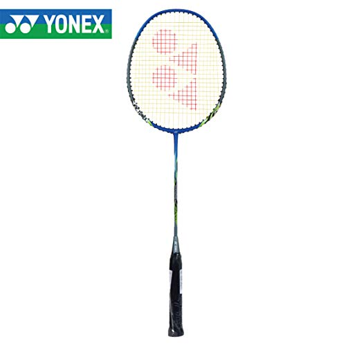 YONEX Badminton Racket Nanoray Series with Full Cover High Tension Pre Strung Rackets (Senior, Nanoray 6000i) by Yogi Sports