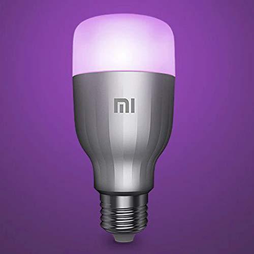 Xiaomi Mi LED Lampadina Colorata, WiFi (Non Richiede HUB), Compatibile con Google Home, Alexa e Apple HomeKit, [Versione Italiana] E27, 10 W, 800 lm