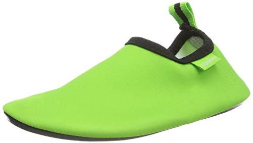 Playshoes Calcetines de Agua con protección UV Uni, Zapatos para Playa Unisex niños, Verde (Gruen 29), 18/19 EU