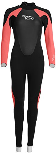Billabong - Neopreno para surf, color negro, talla Size 8