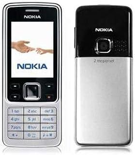 نوكيا 6300 - موفيستار سيم فري-بلون اسود وفضي، هاتف نوكيا المحمول الأصلي بنسبة 100%