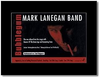 Music Ad World Mark LANEGAN - Bubblegum Mini Poster - 21x13.5cm
