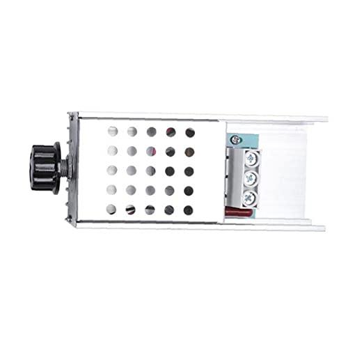 1 Pc De Plata De Aluminio + 10000w Regulador De Alta Potencia Scr Bta100-800b Voltaje Electrónico De Control De Velocidad Y Atenuación del Termostato