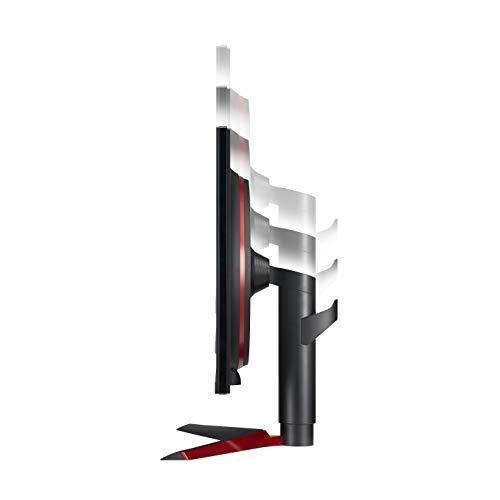LG 27GL83A-B 27 Inch Ultragear QHD IPS 1ms NVIDIA G-SYNC Compatible Gaming Monitor, Black