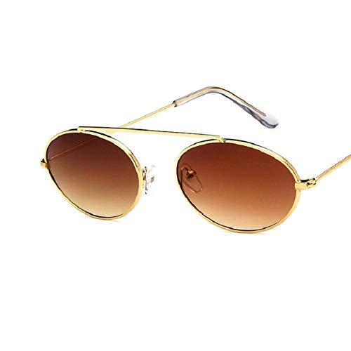 Moda Gafas De Sol Punk Vintage para Mujer, Gafas De Sol con Montura para Hombre, Gafas De Moda, Pequeño Diseñador De Lujo, 1