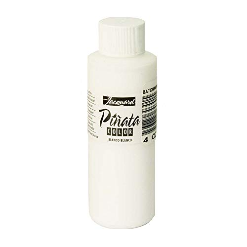 Jacquard : Piñata : Alcohol Ink : 4oz (118ml) : White (Blanco) 030 : Ship By Road Only