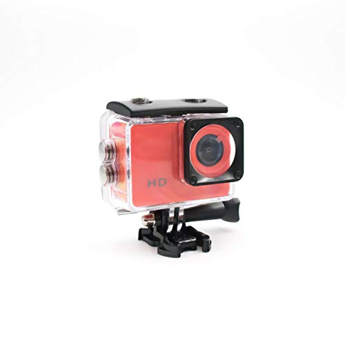 SK8 CAM - 720P HD Rojo