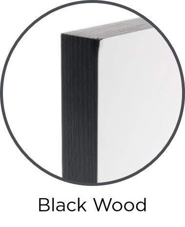 Silver Linings Zelfklevende fotolijst, 20 x 25 cm, randbreedte 1,9 cm, zwart