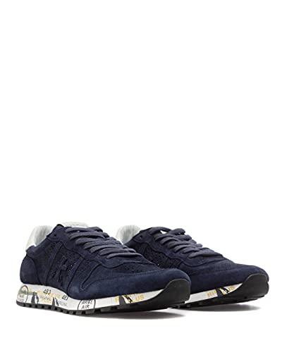 Sneakers Hombres PREMIATA Eric 3836 Gamuza Azul