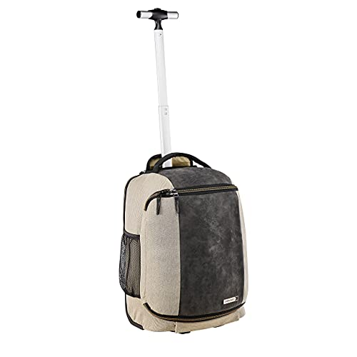 Cabin Max Manhattan Hybrid 30L 45x36x20cm Backpack / Trolley Carry on Hand Luggage