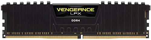 CORSAIR 16GB Vengeance LPX DDR4 PC4-19200 2400MHz Desktop Memory Model CMK16GX4M1A2400C16