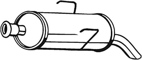Bosal 190-003 Silencieux arrière