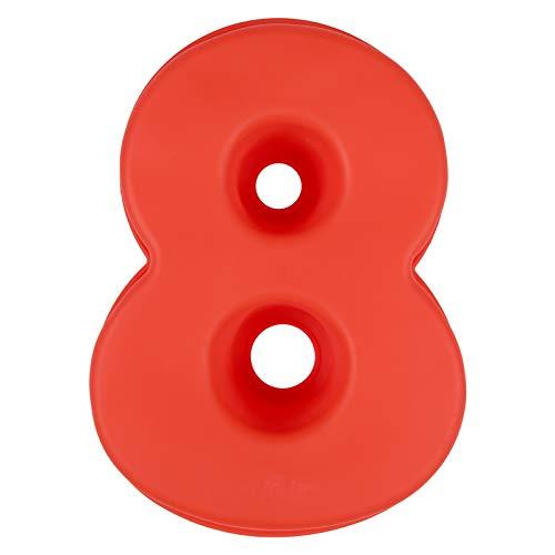 LIHAO Molde de Silicona Números Moldes de Formas Específicas para Tarta Pastel Repostería Cumpleaños Aniversario de Bodas - Número 8