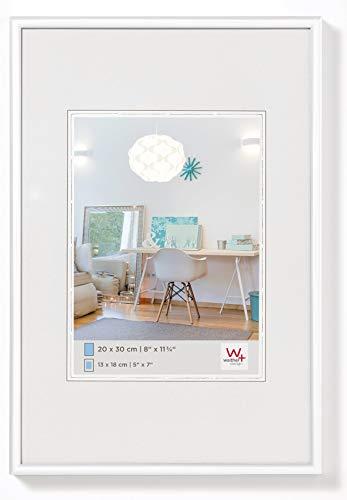 Walther Design New Lifestyle Cornice, Bianco, 20x30 cm
