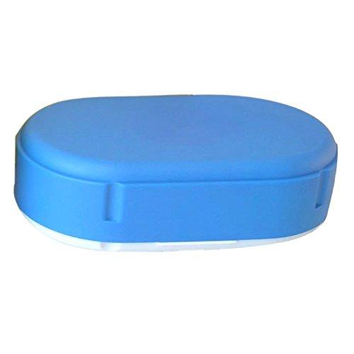 Brotdose oval in blau spülmaschinengeeignet Lunchdose Brotbüchse Brotbox Dose Lunchbox