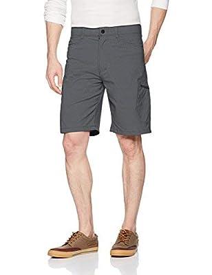 Wrangler Authentics Men's Performance Comfort Flex Cargo Short, granite, 48