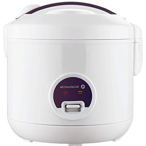 Reishunger Hervidor de arroz/arrocera (1,2l/500W/220V), función de mantenimiento del calor, olla...