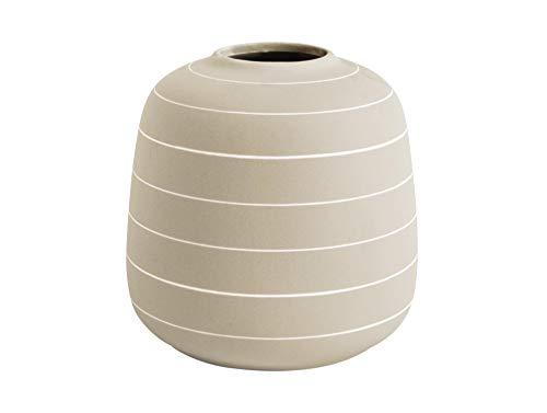 PT Vase Terra Wide Keramik Elfenbein, keramisch, H, D. 16,5 cm