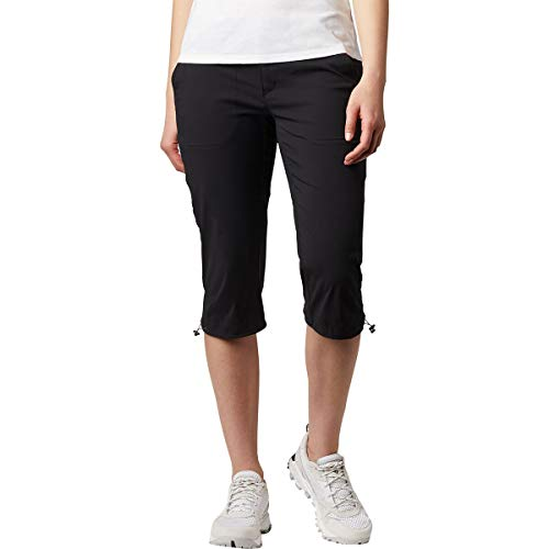 Columbia Saturday Trail II Knee Pant AL8672 Shorts Largos, Mujer, Negro (Black), W14/L18