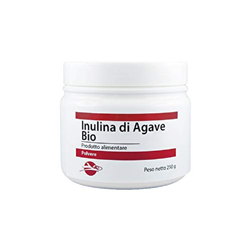 Inulina di Agave da agricoltura biologica, Fibra alimentare prebiotica (Neutro, 250 g)