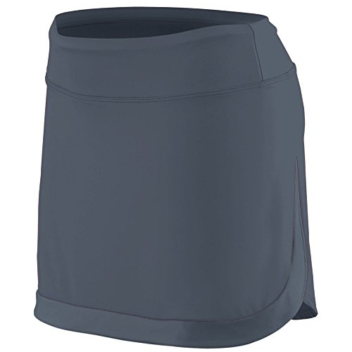 Augusta Sportswear Augusta Ladies Action Color Block Skort, Graphite, Medium