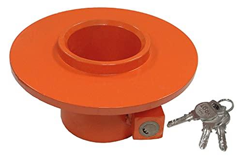 Ryme Automotive Kingpin Lock - Cerradura Antirrobo de Seguridad para 5ª Rueda, antirrobo, King Pin, Alta Seguridad para remolques, Trailer, Tractores, Candado para Quinta Rueda Universal