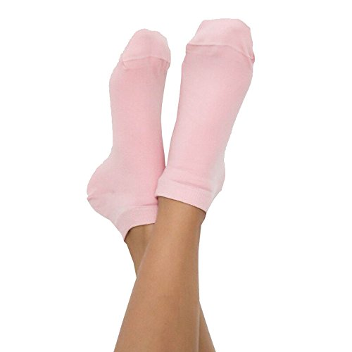 ALBERO Sneaker Socken Bio-Baumwolle/Elasthan, Rosenquarz, Gr. 43/46 (1 Paar)