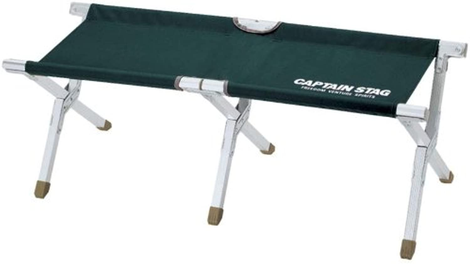 Captain Stagg (CAPTAIN STAG) CS aluminum GI bench green M3881