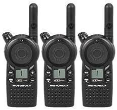 3 Pack of Motorola CLS1110 Two Way Radio Walkie Talkies (UHF)