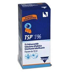Anseris Farma Soluzione Oftalmica Tsp 1% Ts Polisaccaride Flacone 10 Ml