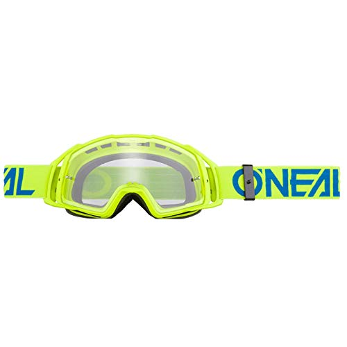O'NEAL B20 Flat Goggle MX DH Brille gelb/klar Oneal