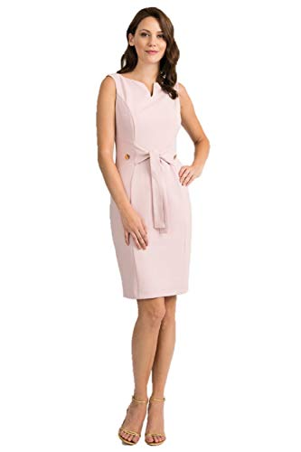 Joseph Ribkoff Rose Dress Style 201514 - Spring 2020 Collection (12)