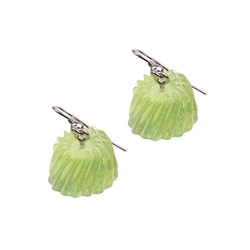 Snykk Süßigkeiten und Gebäck Ohrringe verschiedene Sorten, Farbe:Wackelpudding