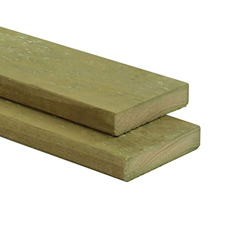 Konstruktionsholz Kiefer imprägniert Dielen Bretter 20 x 70 mm Länge 100 cm