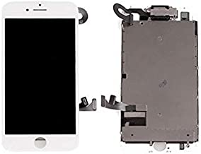 Compatible for iPhone 7 LCD   Screen Replacement (White) Full Assembly Included with Front Camera (Light   Proximity)   Ear Speaker   Repair Tool.