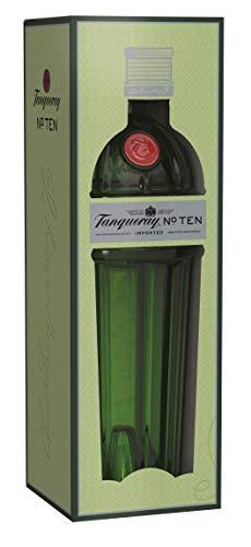 Tanqueray No. Ten Distilled Gin mit Geschenkpackung (1 x 0.7 l), 751910