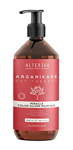 ALTER EGO ITALY Arganikare Day Therapy Miracle Silver Maint Acondicionador - 950ML
